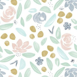 Pastel Blooming Florals