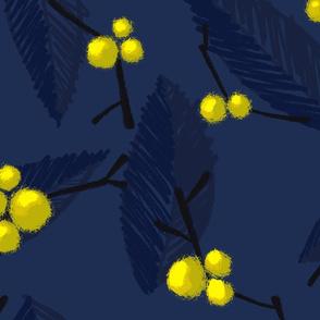 Flouro Flowero Navy