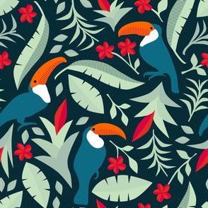 toucan floral