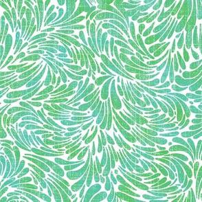 water splash in mint