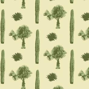 Sonora Flora - Silkscreen Style