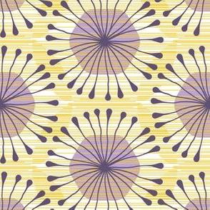 HexBloom (purple_ yellow)