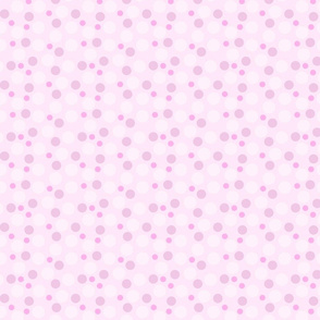 Pink and Purple Spots and Dots