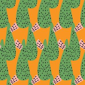 Mod Cactus Yellow