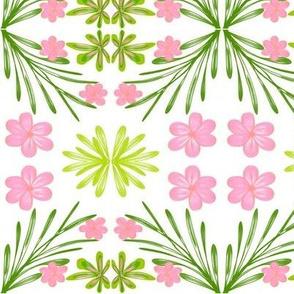 Pink Blossom Lattice