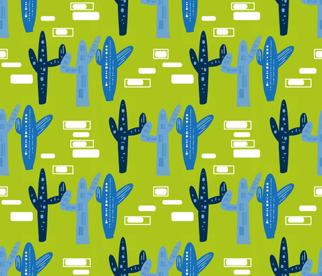 Urban Desert sewindigo fabric by sewindigo on Spoonflower - custom fabric