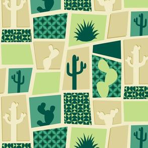 MidCentury Cactus Breeze Blocks