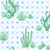 Modern Desert Cactus large 1