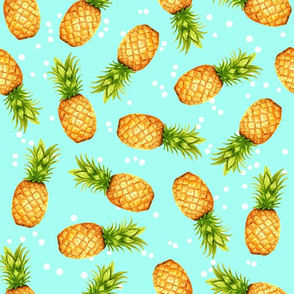 Summer Pineapple Dots V02