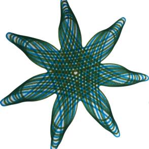 Spirograph Sea | Stars
