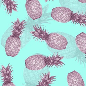 Pink Summer Pineapple