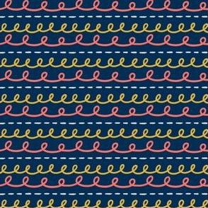hand drawn stripe - classic car coordinate