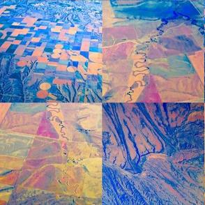 Colorado Rockies - Abstract Desert, Designs By Air