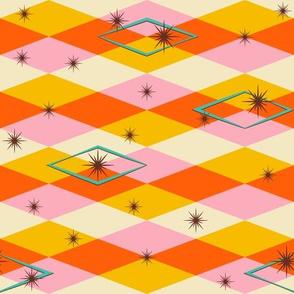 Diamension #2 (horizonal pattern)