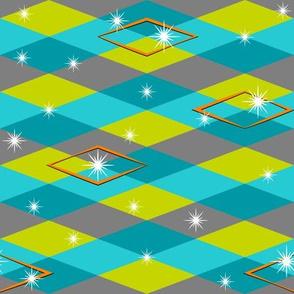 Diamension #4 (horizonal pattern)
