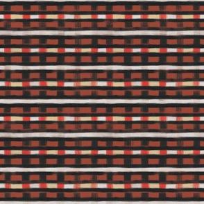 geo brush stripe square