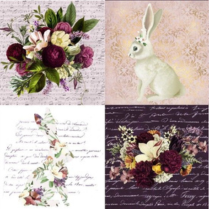 Bunny Loves Flowers Patchwork