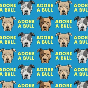 ADORE A BULL - Blue & Yellow - LAD19