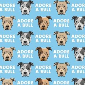 ADORE A BULL - Blue - LAD19