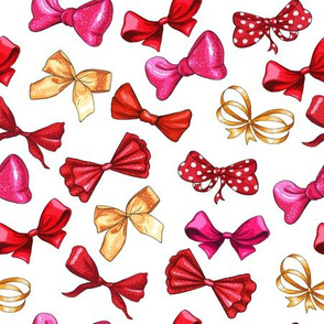 Cute Bows Multicolored