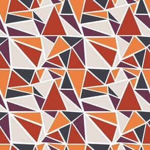 Mod Geo - Mosaic (Sunset)