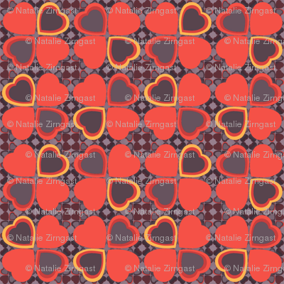 Lucky in love - orange