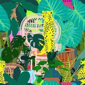 Maximalist Boho Jungle