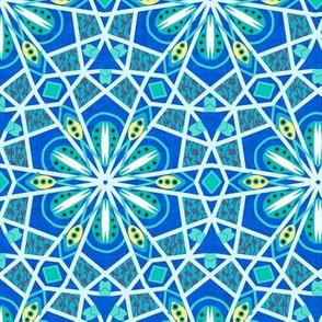 Bohemian Kaleidoscope in Turquoise