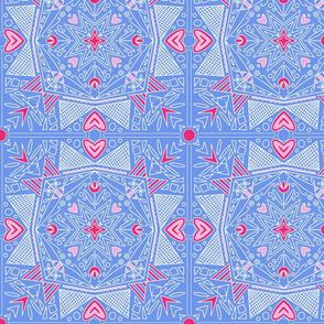 Blue Pysanka