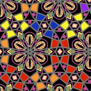 Bohemian Rainbow Kaleidoscope 2