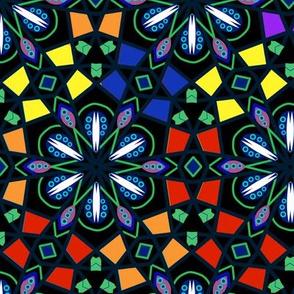 Bohemian Rainbow Kaleidoscope 3