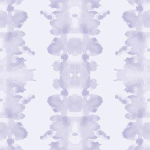 Lavender double inkblot