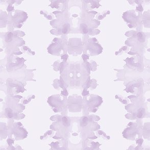 Lilac double inkblot