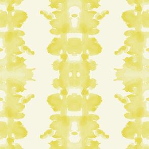 Golden double inkblot