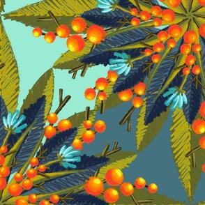 Flouro Flowero Leaf Berry