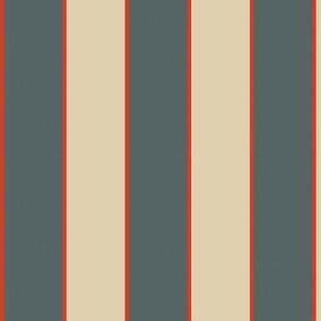 Mid century modern stripe