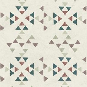 Desert Modern Triangles Cool