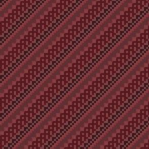 red_pear_diagonal stripe