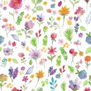 Watercolour Spring Stems