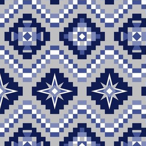 Aztec blue gray