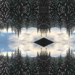 farout snow trees