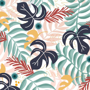 Tropical Floral Breeze