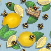 Widdle Bitty Bees- Lemonade Stand-Light Blue