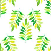 Watercolor Green sleeves
