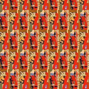 Bastille-warm red