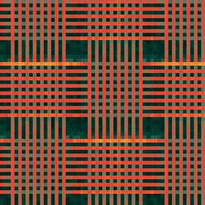 red-green-forest weave