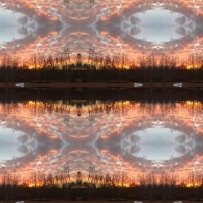 Piney creek Pinky arky sunset filigree