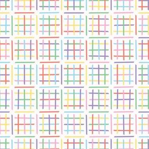 Criss Cross Maze Pattern Hand Drawn Background