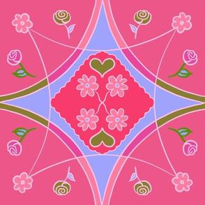 Pysanky - Pink