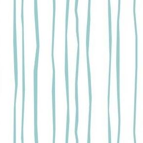 Aqua Stripe - Narrow